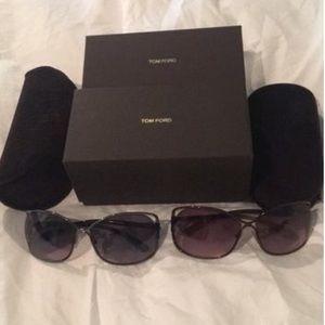 Women's Tom Ford Sunglasses (Black & Brown)